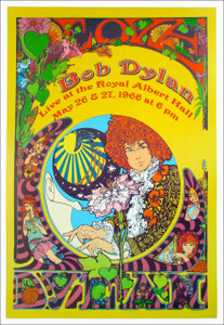 Bob Dylan Royal Albert Hall 1966 Poster Nice Reprint Litho by Bob Masse