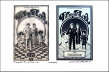 Fillmore East Program Poster Image + Sketch 1971 Signed by David Byrd