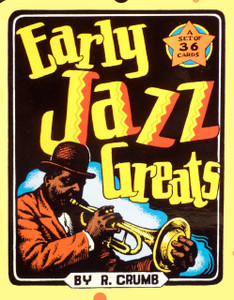 R. Crumb Early Jazz Greats Card Set