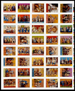 R. Crumb Pioneers of Country Music Uncut Proof Sheet