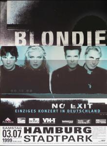 Blondie; Stadtpark Hamburg, 3/7/99