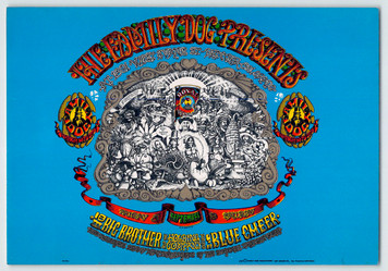 FD079 Family Dog Denver Handbill Big Brother Blue Cheer 1967 AKA FD-D01
