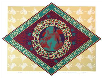 Smashing Pumpkins Poster Seattle 2000 Signed Silkscreen by Gary Houston