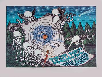 Dead.net Original Signed Silkscreen Concert Poster by Gary Houston