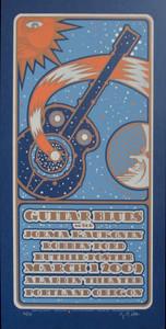 Guitar Blues Festival Jorma Poster Original Signed Silkscreen by Gary Houst