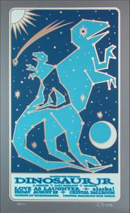 Dinosaur Jr. Poster Original Signed Silkscreen by Gary Houston