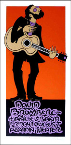David Bromberg Poster 2009 Signed Silkscreen by Gary Houston
