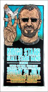 Ringo Starr & Hs All-Starr Band Original Concert Gig Poster SN Gary Houston