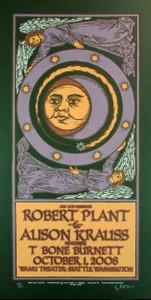 Robert Plant Allison Krauss Poster A Original Signed Silkscreen Gary Housto