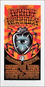 Dandy Warhols Poster Original Signed Silkscreen by Gary Houston
