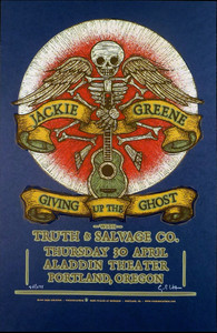 Jackie Greene Poster Truth & Salvage Original Signed Silkscreen Gary Housto