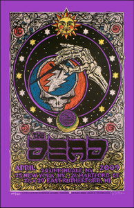 The Dead East Coast Tour Poster 2009 Original Silkscreen SN Gary Houston.