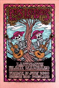 Los Lobos Poster Ladysmith Black Mambazo Signed Silkscreen Gary Houston