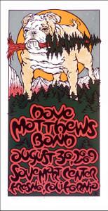 Dave Matthews Band Poster Original Signed Silkscreen by Gary Houston