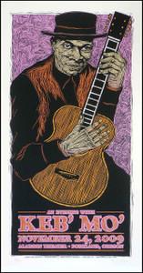 Keb' Mo' Poster Original Signed Silkscreen by Gary Houston 2009