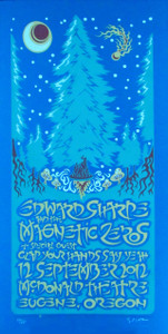 Edward Sharpe and Magnetic Zeros Poster Signed Silkscreen by Gary Houston