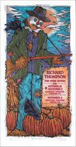Richard Thompson Webb Sisters Poster Silkscreen s/n 145 Gary Houston