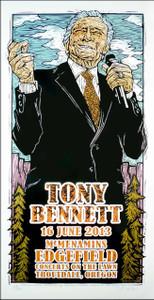 Tony Bennett Poster Original Signed Numbered Silkscreen by Gary Houston