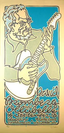 David Bromberg #4 Ollabelle 2011 Original Signed Silkscreen Concert Poster