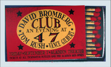 David Bromberg Poster Tom Rush Original Signed Silkscreen Gary Houston ï09