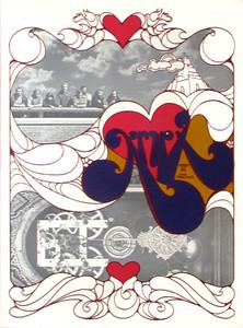 KMPX Radio Poster 107 FM San Francisco Original 1968 Rare Unique