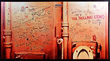 Rolling Stones 1968 Beggar's Banquet Rejected Toilet Graffiti Album Slick