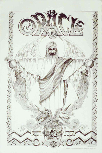 The Oracle Poster 1967 Rick Griffin Original 1st Printing 14 x 20 Rare MINT