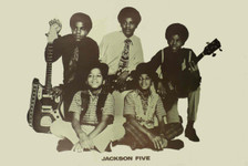 Jackson 5 Original Vintage Poster Circa 1970 5 Brothers in a Band Sweet