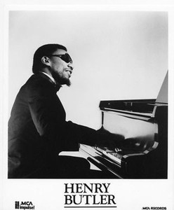 HENRY BUTLER Jazz Pianist MCA Impulse! Original Vintage 8 x 10 Press Kit Photo