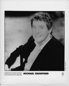 Michael Crawford Original Vintage Columbia Records 8x10 Press Photo Simon Fowler
