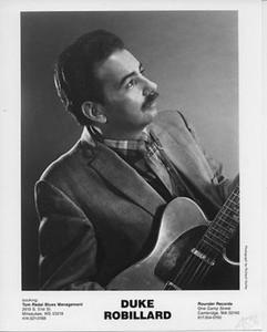 Duke Robillard Original Vintage Rounder Records 8x10 Press Photo: Richard Hurley