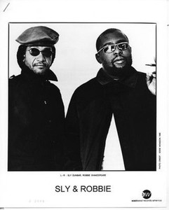 Sly Dunbar Robbie Shakespeare Vintage Press Kit w 8x10 Photo Eddie Morrison