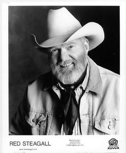 RED STEAGALL Country Singer Reba's Mentor Original Warner Bros 8x10 Photo