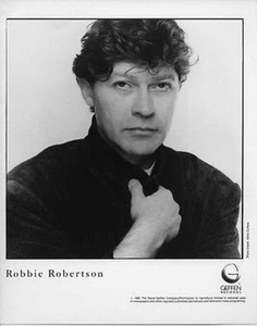 Robbie Robertson Original Mint Vintage B&W Glossy Still Press Photo