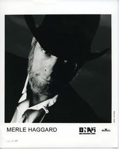 Merle Haggard Original Vintage BNA/BMG 8x10 Press Photo by Jim Shea