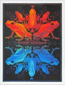 SXSW Comedy Poster '13 Kristin Schaal Reggie Watts Marc Maron SN 200 Todd Slater