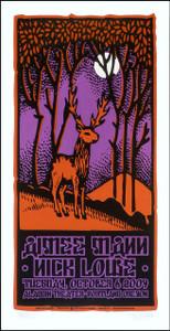 Aimee Mann Poster Original Signed Silkscreen by Gary Houston