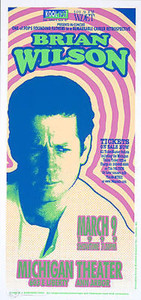 Brian Wilson Poster Original Signed Silkscreen 1999 by Mark Arminski