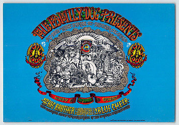 FDD 01 Big Brother Family Dog Denver Handbill Blue Cheer Opening Night 1967 MINT