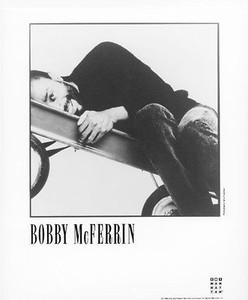 BOBBY McFERRIN Original Vintage Manhattan Records 8x10 Still Glossy Press Photo