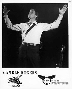 Gamble Rogers Original Vintage Flying Fish Records 8x10 Press Photo
