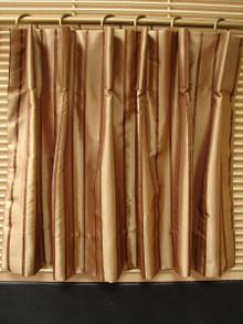 Cartridge or Barrel Pleat
