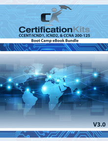 CCENT ICND1 / ICND2 & CCNA 200-125 Boot Camp eBook Bundle