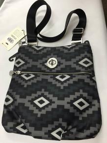 Baggalini Hanover Crossbody Aztec Handbag