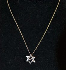 Sterling Silver Star of David Necklace by Jean Designs