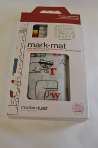 Mark-Mat Alphabet Animals Coloring Placemat and Markers