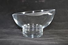 Glass Slant Bowl By Badash