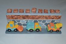 Truck Menorah