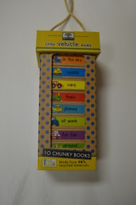 Chunky Books- Set of 10 Vehicle Books