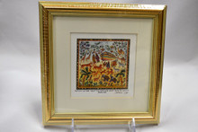 Framed Noah's Ark Art